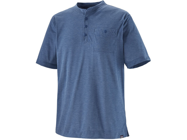 Patagonia Capilene Cool Trail Henley SS Shirt Men superior blue